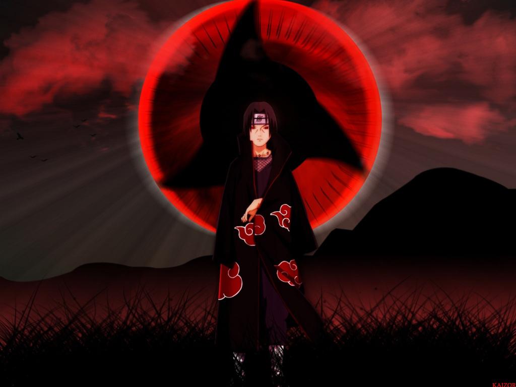Uchiha Sasuke amaterasu sharingan